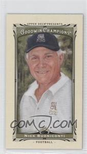 2013 Upper Deck Goodwin Champions - [Base] - Mini #34 - Nick Buoniconti