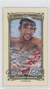 2013 Upper Deck Goodwin Champions - [Base] - Mini #92 - Michael Phelps