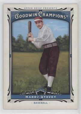 2013 Upper Deck Goodwin Champions - [Base] #151 - Harry Stovey