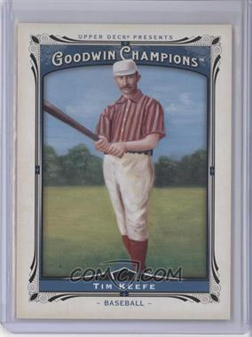 2013 Upper Deck Goodwin Champions - [Base] #169 - Tim Keefe