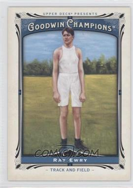 2013 Upper Deck Goodwin Champions - [Base] #171 - Ray Ewry
