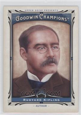 2013 Upper Deck Goodwin Champions - [Base] #174 - Rudyard Kipling