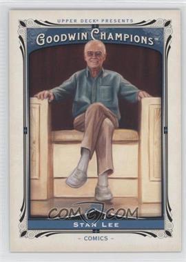 2013 Upper Deck Goodwin Champions - [Base] #182 - Stan Lee