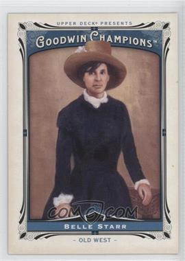 2013 Upper Deck Goodwin Champions - [Base] #189 - Belle Starr