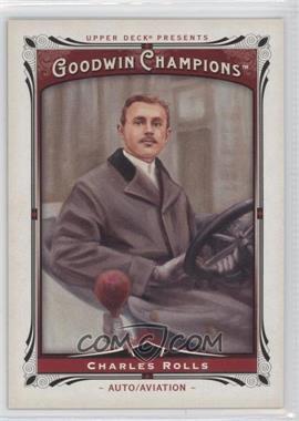 2013 Upper Deck Goodwin Champions - [Base] #192 - Charles Rolls