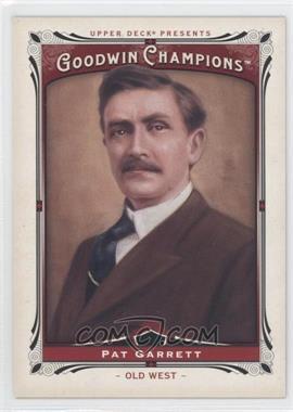 2013 Upper Deck Goodwin Champions - [Base] #203 - Pat Garrett