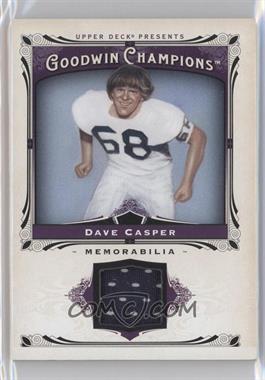 2013 Upper Deck Goodwin Champions - Memorabilia #M-DC - Dave Casper