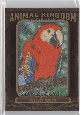 2013 Upper Deck Goodwin Champions Animal Kingdom Manufactured Patches #AK-208 - Scarlet Macaw
