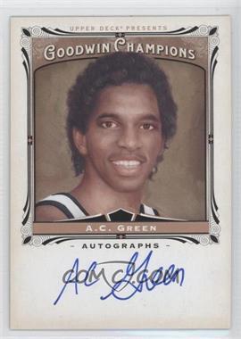 2013 Upper Deck Goodwin Champions Autographs #A-AG - A.C. Green