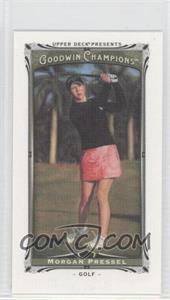 2013 Upper Deck Goodwin Champions Canvas Minis #14 - Morgan Pressel