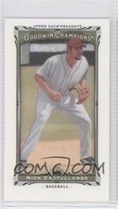 2013 Upper Deck Goodwin Champions Canvas Minis #212 - Nick Castellanos