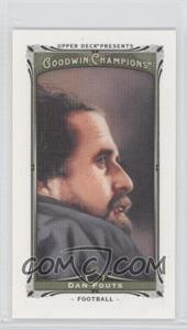 2013 Upper Deck Goodwin Champions Canvas Minis #52 - Dan Fouts