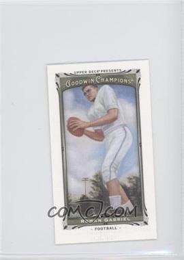 2013 Upper Deck Goodwin Champions Canvas Minis #67 - Roman Gabriel