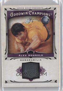 2013 Upper Deck Goodwin Champions Memorabilia #M-AH - Alex Honnold