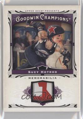 2013 Upper Deck Goodwin Champions Memorabilia #M-SH - Suzy Hotrod