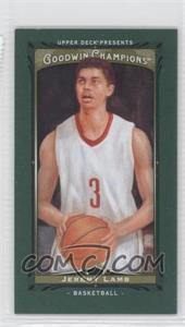 2013 Upper Deck Goodwin Champions Mini Green Lady Luck #102 - Jeremy Lamb