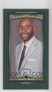 2013 Upper Deck Goodwin Champions Mini Green Lady Luck #114 - Jerry Rice