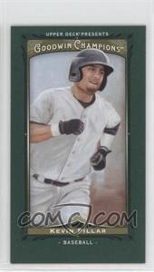2013 Upper Deck Goodwin Champions Mini Green Lady Luck #217 - Kevin Pillar