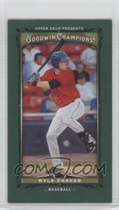 2013 Upper Deck Goodwin Champions Mini Green Lady Luck #219 - Kyle Parker