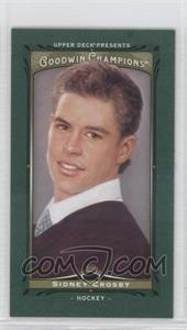 2013 Upper Deck Goodwin Champions Mini Green Lady Luck #47 - Sidney Crosby
