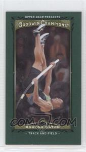 2013 Upper Deck Goodwin Champions Mini Green Lady Luck #68 - Ashton Eaton