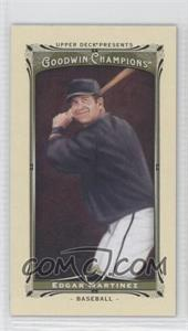 2013 Upper Deck Goodwin Champions Mini #124 - Edgar Martinez
