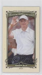 2013 Upper Deck Goodwin Champions Mini #24 - Ernie Els
