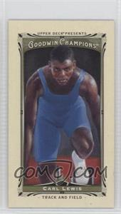 2013 Upper Deck Goodwin Champions Mini #60 - Carl Lewis