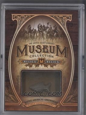 2013 Upper Deck Goodwin Champions Museum Collection Relics #MR-AW - Native American Arrowhead