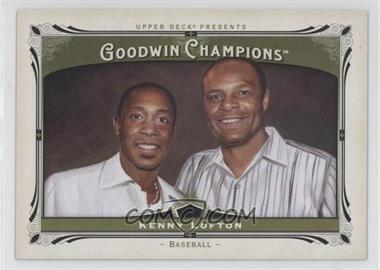 2013 Upper Deck Goodwin Champions #126.2 - Kenny Lofton, Warren Moon (Horizontal)