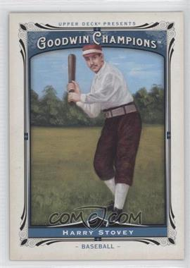 2013 Upper Deck Goodwin Champions #151 - Harry Stovey