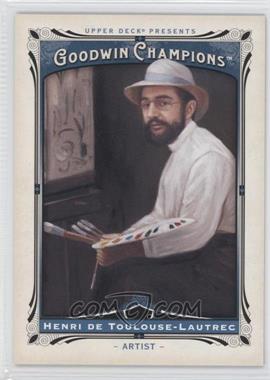 2013 Upper Deck Goodwin Champions #156 - Henri de Toulouse-Lautrec