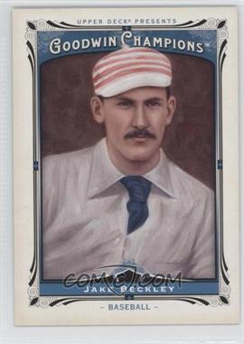 2013 Upper Deck Goodwin Champions #157 - Jake Beckley