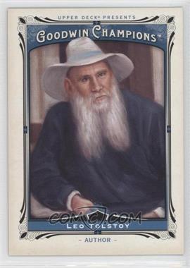 2013 Upper Deck Goodwin Champions #190.1 - Leo Tolstoy (Vertical)
