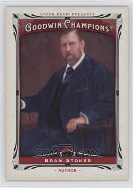 2013 Upper Deck Goodwin Champions #193 - Bram Stoker