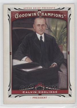 2013 Upper Deck Goodwin Champions #208 - Calvin Coolidge