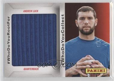 2014 Panini Father's Day #WhoDoYouCollect Memorabilia #AL3 - Andrew Luck