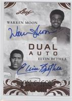 Warren Moon, Elvin Bethea