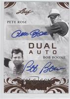 Pete Rose, Bob Boone