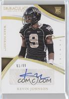 Collegiate Rookie Autographs - Kevin Johnson /99