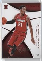 Rookie - Anthony Brown /25