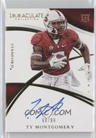 Rookie Autographs - Ty Montgomery /99