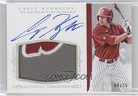 Baseball Materials Signatures - Casey Hughston /25