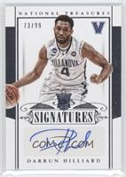Rookie Signatures - Darrun Hilliard /99