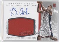 Basketball Materials Signatures - Brandon Ashley /99
