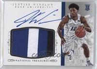 Basketball Materials Signatures - Justise Winslow /99