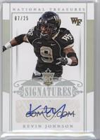 Rookie Signatures - Kevin Johnson /25