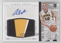 Basketball Materials Signatures - Aaron White /99