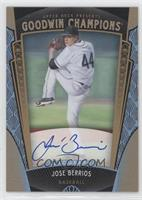 Baseball Prospects Autographs - Jose Berrios