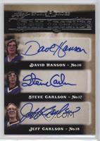 David Hanson, Steve Carlson, Jeff Carlson